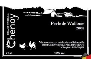 PERLE DE WALLONIE, UN CREMANT BELGE