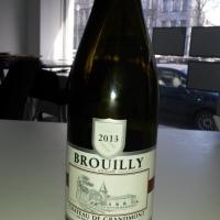 Brouilly 2013. Château de Grandmont #beaujolais #brouilly #france #vin