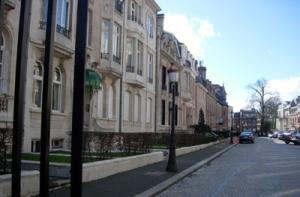 L'Avenue Louise à Bruxelles où vit Patricia Taittinger