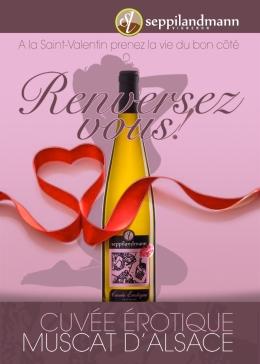 Muscat Cuvée Erotique Seppi Landmann  #muscat #vin#alsace