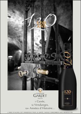 Les 120 ans du ChampagneGardet