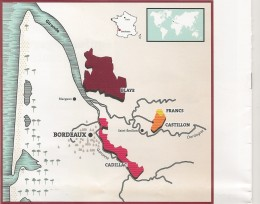 Les vins de Côtes de Bordeaux en face de l'image des vins de Bordeaux : coûteux etcompliqués