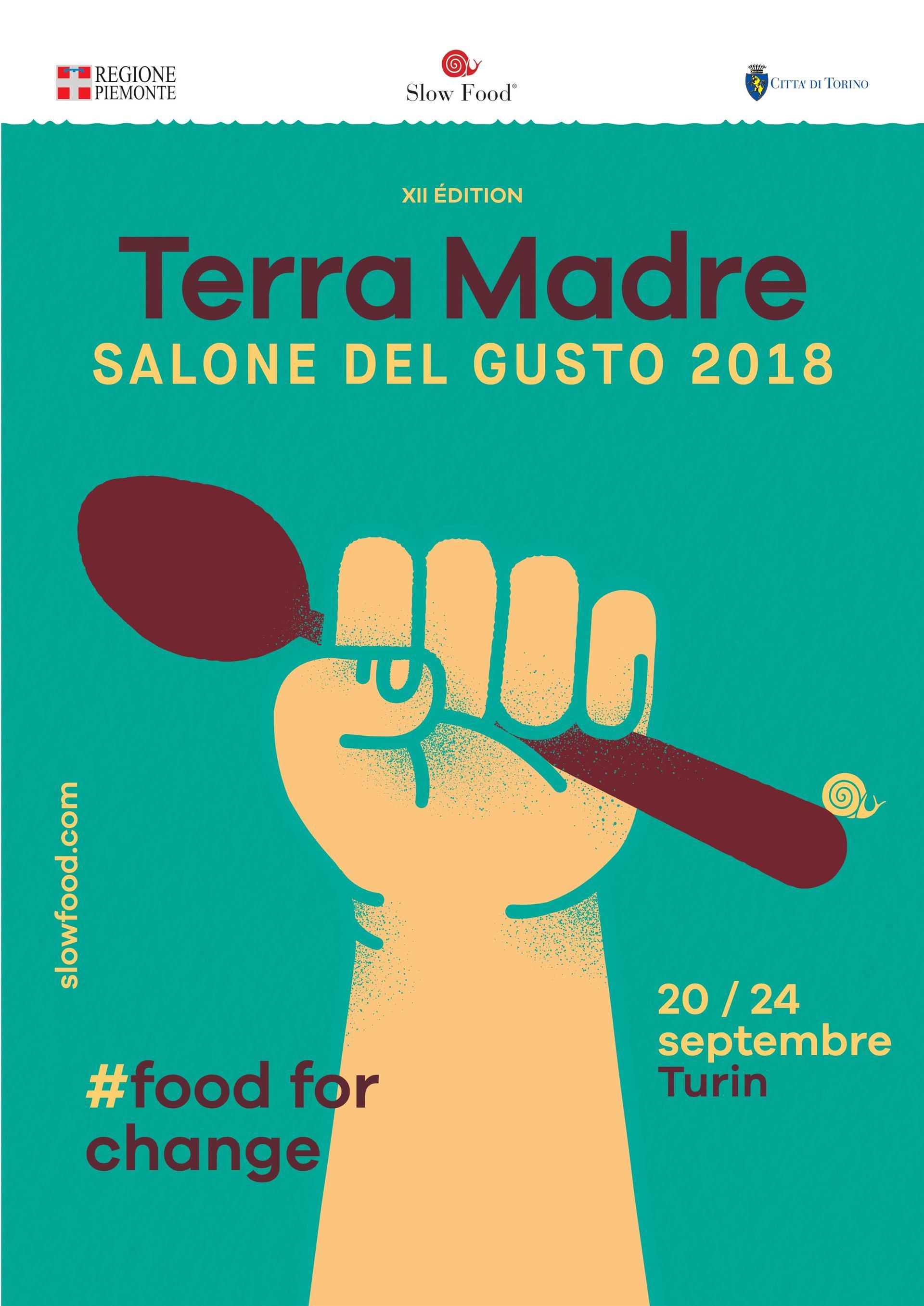 Terra Madre Salone del Gusto présente l'innovation majeure de l'édition 2018