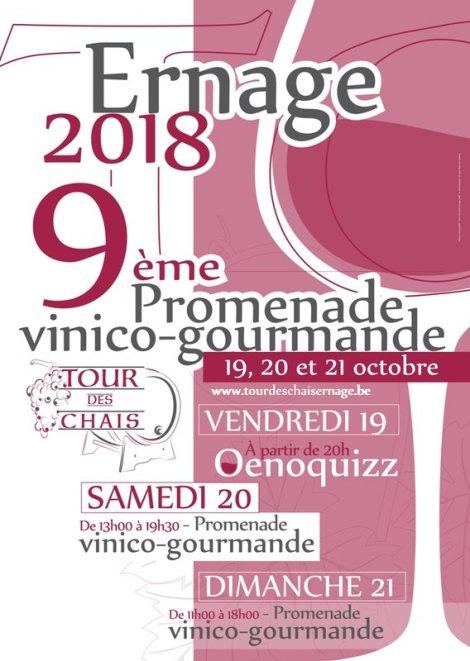 9ème «Tour des Chais», à Ernage, du 19 au 21Octobre